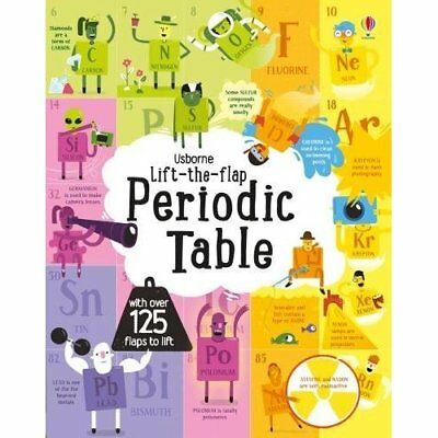 Lift the Flap Periodic Table - Board book NEW