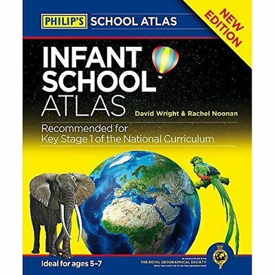 Philip's Infant School Atlas: For 5-7 year olds (Philip - Hardcover NEW David Wr