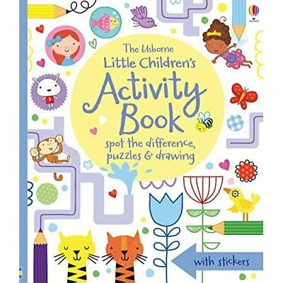 Little Children's Activity Book Spot the Difference, Pu - Paperback NEW Various