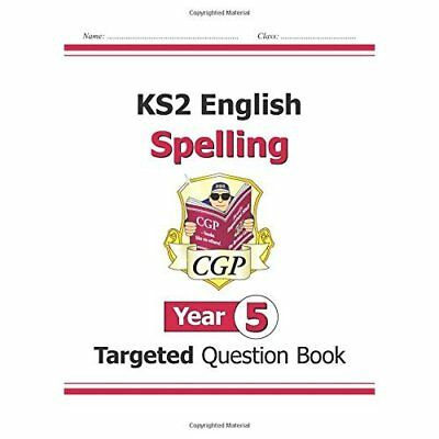 KS2 English Targeted Question Book: Spelling - Year 5 - Paperback NEW Books, Edi