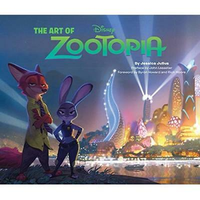 The Art of Zootopia - Hardcover NEW Julius, Jessica 2016-03-08