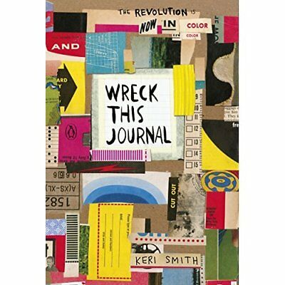 Wreck This Journal: Now in Colour - Paperback NEW Smith, Keri