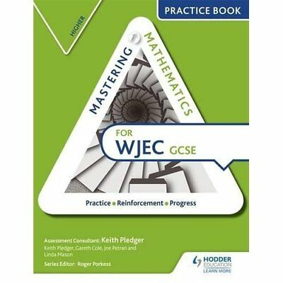 Mastering Mathematics WJEC GCSE Practice Book: Higher - Paperback NEW Keith Pled