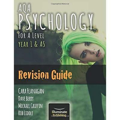AQA Psychology for A Level Year 1 & AS - Revision Guide - Paperback NEW Flanagan