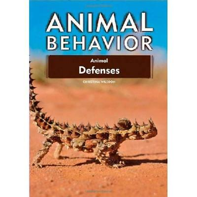 Animal Defenses (Animal Behavior) - Library Binding NEW Wilsdon, Christ 2009-05-