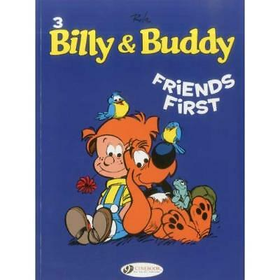 Billy & Buddy Vol.3: Friends First - Paperback NEW Jean Roba 2012-06-07