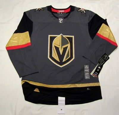 426eebe09ed VEGAS GOLDEN KNIGHTS size 56 sz XXL ADIDAS NHLHOCKEY JERSEY Climalite  Authentic