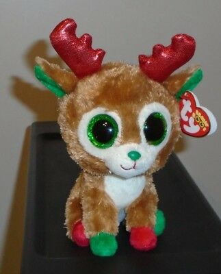 af8832a6358 NM  TY BEANIE Boos ~ ALPINE the Reindeer (6 Inch)(2013 Tags) MINT ...