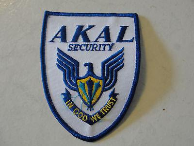A.k.a.l. Security Company Advertising In God We T Patch