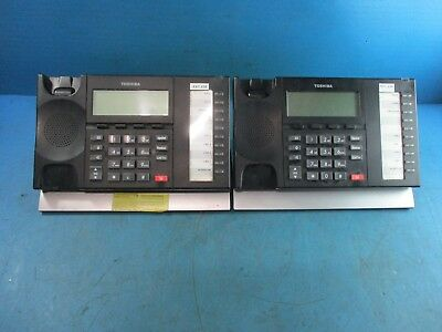 Lot of 2 -  Toshiba Strata DP5022-SD Business Office Home Telephone IP