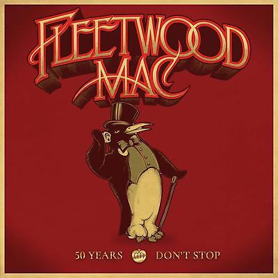 FLEETWOOD MAC 50 YEARS DON'T STOP 3 CD (Released November 16th 2018) (Hits)