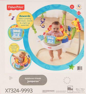 Fisher Price Rainforest Friends jumperoo New in box!