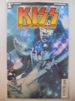 Kiss Blood and Stardust #1 D Cover Dynamite NM Comics Book