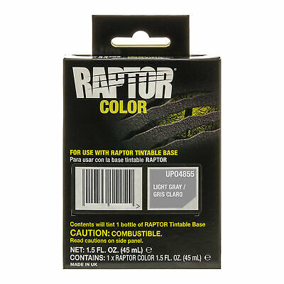 Raptor Color Tint Pouches - Light Gray