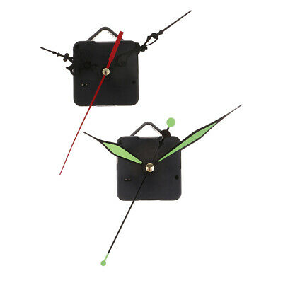 Quartz 12 Hour Wall Clock Movement Mechanism Motor Long Hands For 12hr Dials