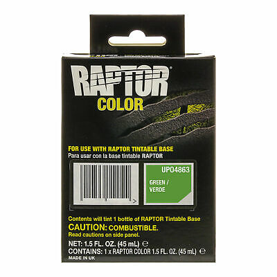 Raptor Color Tint Pouches - Green