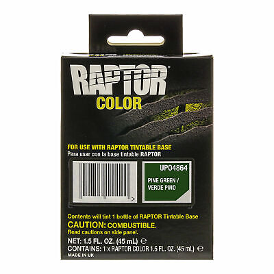 Raptor Color Tint Pouches -Pine Green