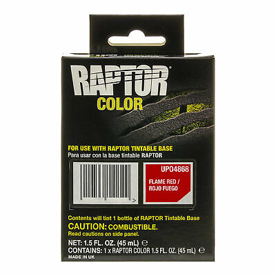Raptor Color Tint Pouches - Flame Red
