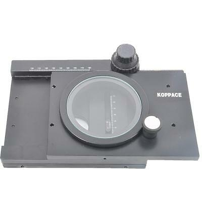 KOPPACE XY Ball guide 360 rotation Work Stand for Inspection Stereo Microscope