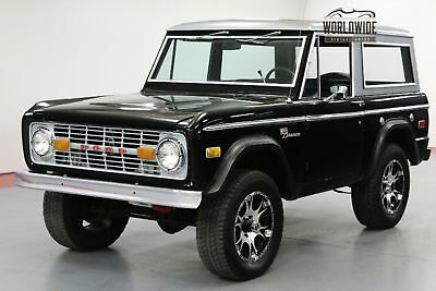 1975 FORD BRONCO SPORT 4x4 CONVERTIBLE. LOW MILES. V8! AUTO!