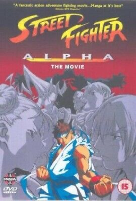 Street Fighter Alpha - The Movie [DVD] - DVD  GXVG The Cheap Fast Free Post