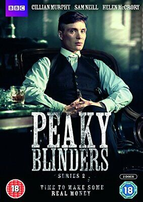 Peaky Blinders - Series 2 [DVD] - DVD  M8LN The Cheap Fast Free Post