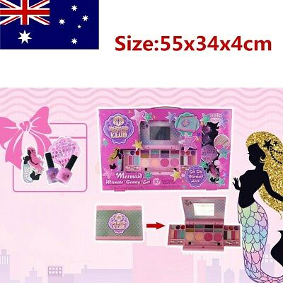 New Princess Makeup Set Pretend Play Girls Cosmetics Kit Toys For Kids AU Stock