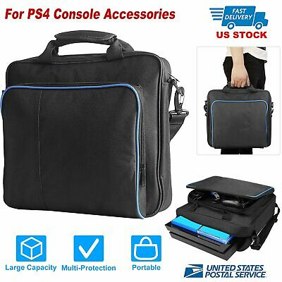 Multifunctio Carry Bag Travel Case Handbag For Sony PlayStation 4 PS4 Console US