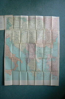 VINTAGE GEOGRAPHIA DAILY TELEGRAPH WAR MAP No 10 OF THE BALKANS & EASTERN EUROPE