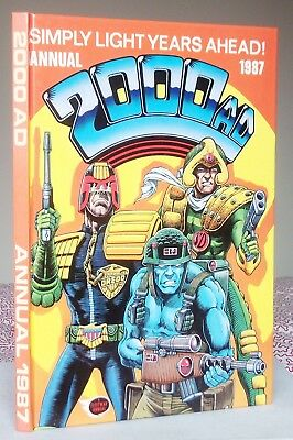 2000AD ANNUAL 1987 (Judge Dredd etc.) Hardback