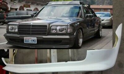Mercedes Benz w126 bumper spoiler  AMG replica front ,body Kit Available .