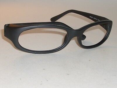 39a0ed3d444a Ray Ban Rb4002 601S Matte Black Daddy-O Wrap Sunglasses eyeglass Frames Only  New