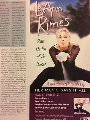 LeAnn Rimes, Sittin' On Top of the World, Promotional Ad