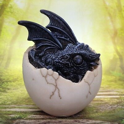Dragon Hatching Egg Figurine Statue Resin Fantasy Gift Decor Style A