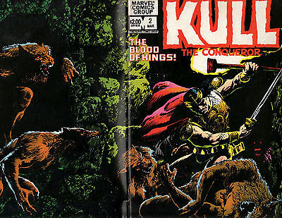 1982 Marvel Comics Kull The Conqueror The Blood of Kings! Comic Issue #2
