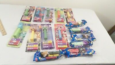 Lot Disney PEZ Candy Dispensers Buzz Minnie Toy Story Pixar Pez