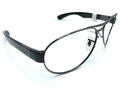127715a8bb9 Ray Ban Sunglass Frames RB3509 004 9A 63-15mm Silver Black Frames Only