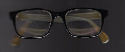 Men's Paul Smith Pirroni Tortoise Rectangle Eye Glasses PM 8033 Two-Tone USED
