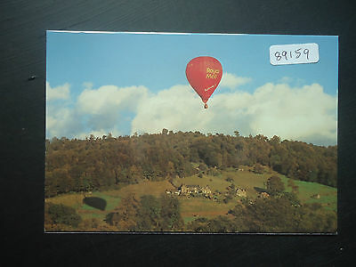 Great Britain NWPB Hot Air Balloon (NWPB Series 7 d) Postcard Unused