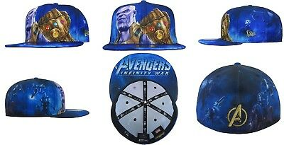 f7ac561ed87 MARVEL x NEW ERA Avengers Infinity War Thanos 59FIFTY Fitted Cap 7 1 8  gauntlet