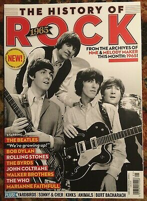 HISTORY OF ROCK 1965 Issue No 1 FIRST PRINT BEATLES Bob Dylan ROLLING STONES Who