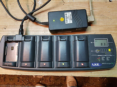 LXE Multi-Charger Plus Battery Charger 5-Slot