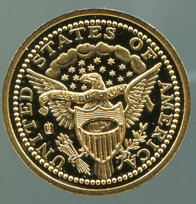 USA - Medaille - 1 C Liberty 1796  / #0063