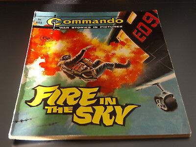 Commando War Comic Number 685 !!,1972 Issue,v Good For Age,46 Years Old,v Rare.