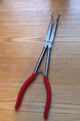 MAC TOOLS - Long Reach Hose Gripping Pliers, Red Handle , Part# P301786