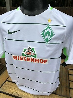 Werder Bremen 2017 Away Football Shirt Size Small Nike Germany Retro Brand New