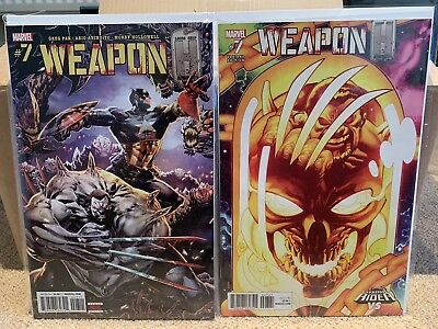 Weapon H #7 - Cover A & Ghost Roder Variant - Marvel 2018 - NM
