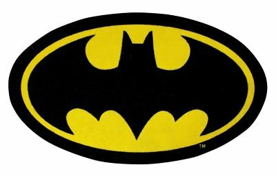 Batman 'Batcave' Shaped  Bedroom Rug Matches Bedding Batman Logo Rug