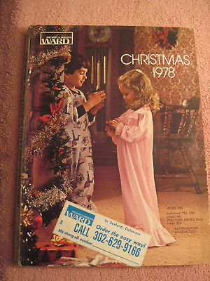 VINTAGE 1978 MONTGOMERY Ward Christmas Catalog Old Wish Book Toys  Electronics