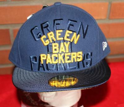 db6bf9a38 Green Bay Packers New Era Sideline Collection Sz 7 5 8 NFL 59Fifty Hat NWT